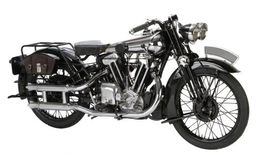 1930 Brough Superior SS100
