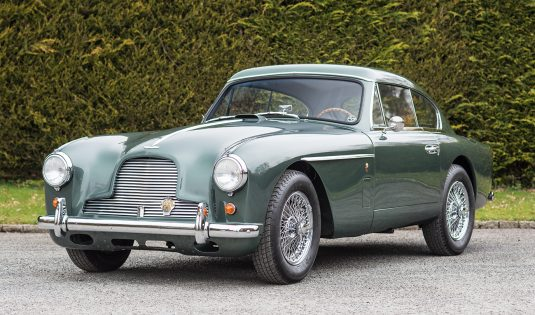 1956 Aston Martin DB2/4 MkII Coupe