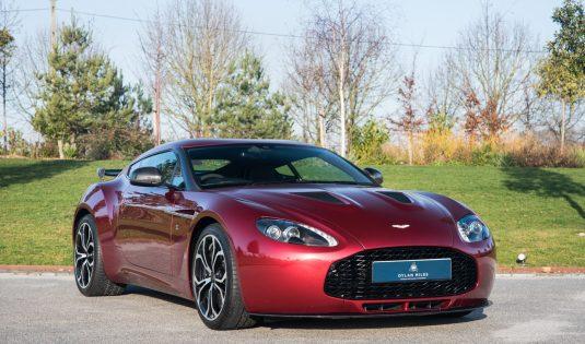 2012 Aston Martin V12 Vantage Zagato