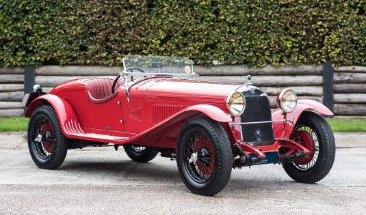 1930 Alfa Romeo 6C 1750 GT Series 4 'Zagato' Spider