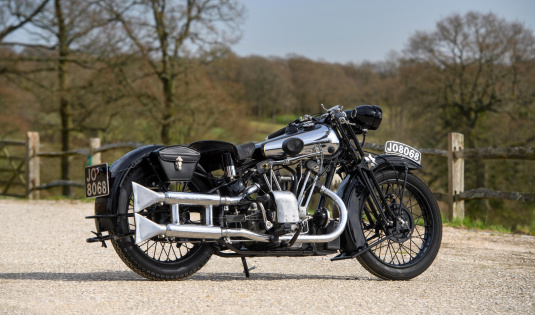 1933 Brough Superior 680 OHV