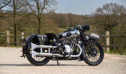 1933 Brough Superior 680 OHV
