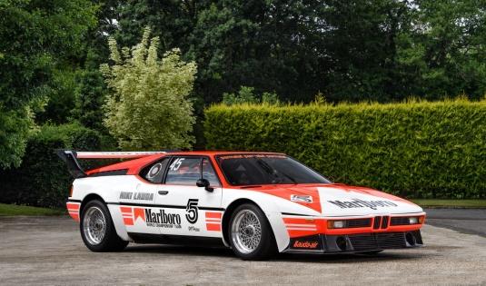 1979 BMW M1 Procar – Ex Niki Lauda/Project 4, 79′ Championship Winner