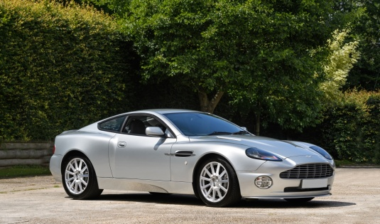 2005 Aston Martin Vanquish S – Works 6 Speed Manual Gearbox