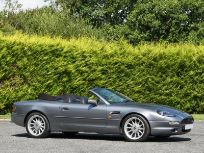 1997 Aston Martin DB7 Volante – 5 Speed Manual
