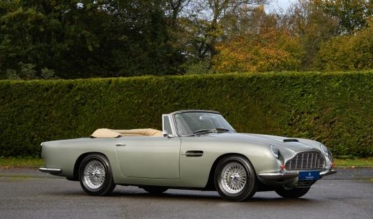 1966 Aston Martin DB6 Short Chassis Volante