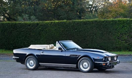 1979 Aston Martin V8 Volante – RSW 7.0L
