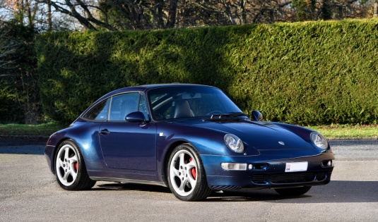 1997 Porsche 993 Targa – Upgraded by RUF