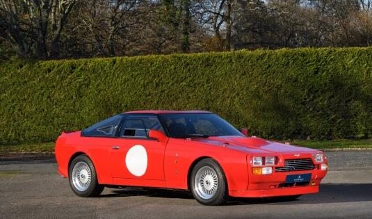 1986 Aston Martin V8 Vantage Zagato – Ex Rowan Atkinson