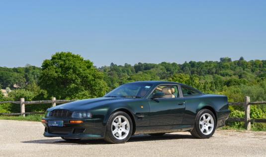 1997 Aston Martin Vantage V550 – 4400 Miles From New