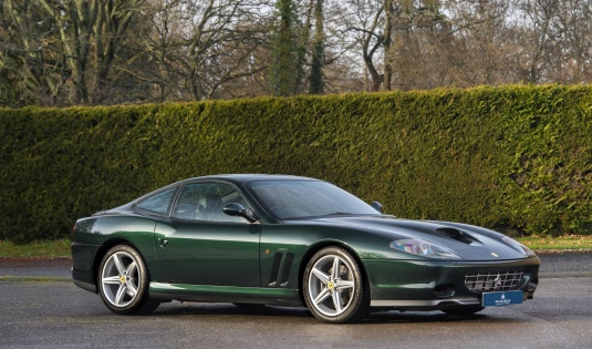 2002 Ferrari 575M – One of 69 UK RHD Manual