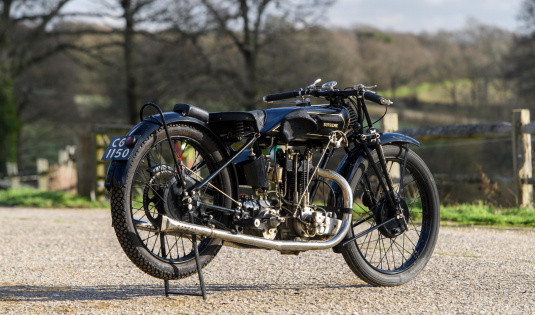 1928 OK Supreme 250cc Racer, Ex Works 28' Isle Of Man Lightweight TT Winner