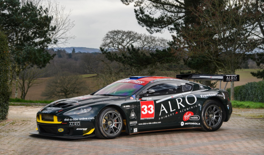 2006 Aston Martin DBRS9 'British GT/GT3 Championship Winner'