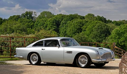 1963 Aston Martin DB4 Series V Vantage 'SS'