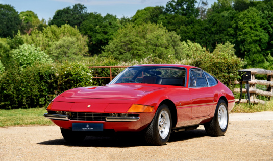 1972 Ferrari 365GTB/4 'Daytona' – Classiche Certified