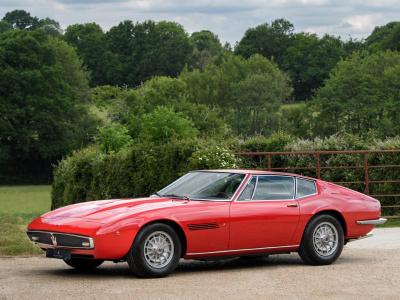 1972 Maserati Ghibli 4.9SS Coupe – 5 Speed ZF