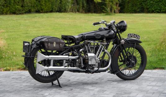 1933 Brough Superior 680 OHV 'Black Alpine'