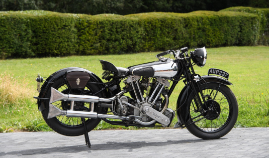 1936 Brough Superior SS100