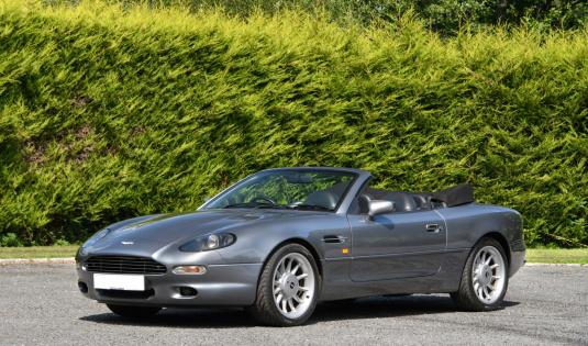 1997 Aston Martin DB7 (i6) Volante – One of 150 Manual