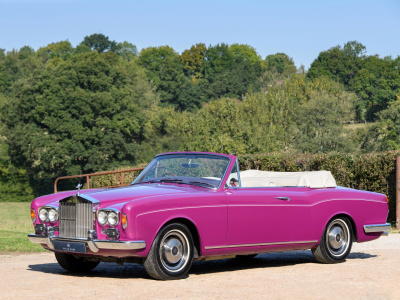1971 Rolls Royce Silver Shadow Mulliner Park Ward Convertible