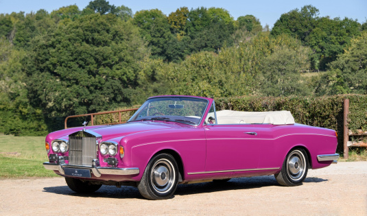 1971 Rolls Royce Silver Shadow Mulliner Park Ward Convertible