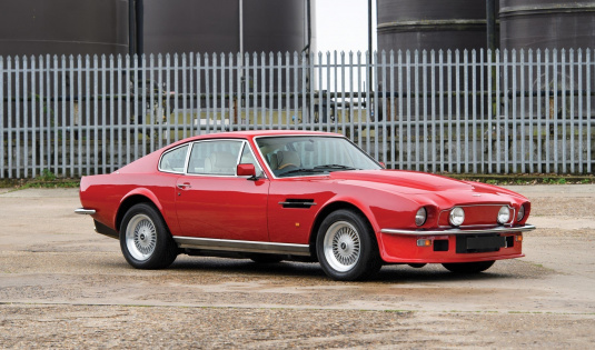 1988 Aston Martin V8 Vantage '580X' Saloon