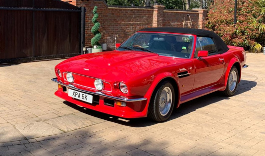 1988 Aston Martin V8 Vantage Volante