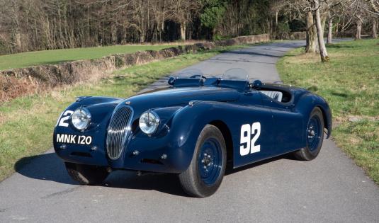 1950 Jaguar XK120 Competition Roadster – Ex Duncan T Russell