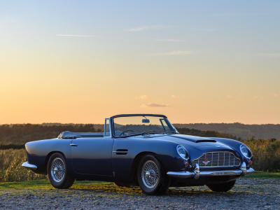 1965 Aston Martin DB5 Convertible – Coming Soon